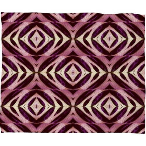 DENY Designs Wagner Campelo Calathea Polyester Fleece Throw Blanket