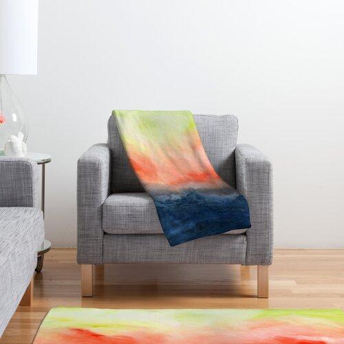 DENY Designs Jacqueline Maldonado Brushfire Polyester Fleece Throw Blanket