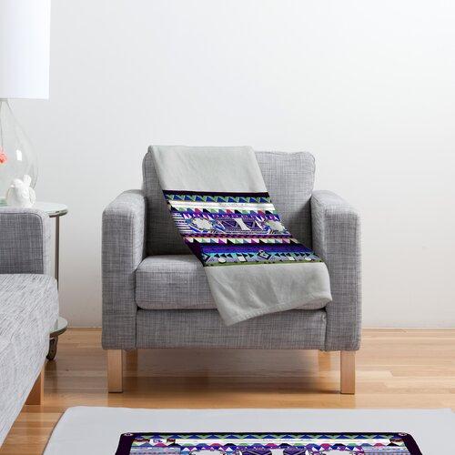 DENY Designs Bianca Green Mix Tape No 10 Polyester Fleece Throw Blanket