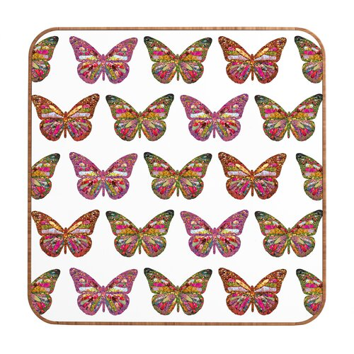 DENY Designs Butterflies Fly by Bianca Green Framed Graphic Art Plaque