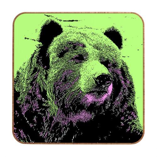 DENY Designs Bear by Romi Vega Framed Graphic Art Plaque