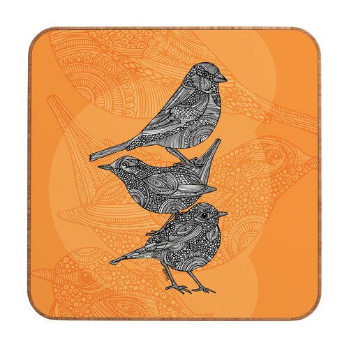 3 Little Birds by Valentina Ramos Framed Graphic Art Plaque