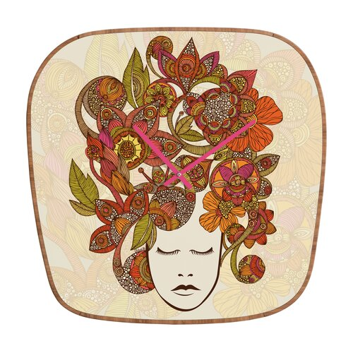 DENY Designs Valentina Ramos It's All in Your Head Wall Clock