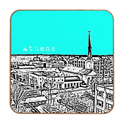 DENY Designs Athens by Bird Ave. Framed Graphic Art Plaque