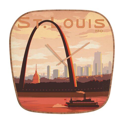 DENY Designs Anderson Design Group Saint Louis Wall Clock