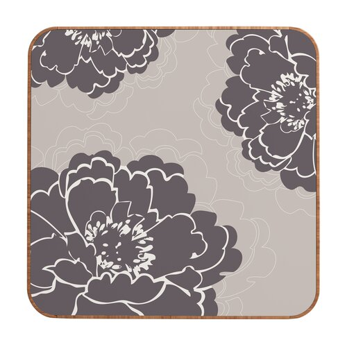 DENY Designs Winter Peony by Caroline Okun Framed Graphic Art Plaque
