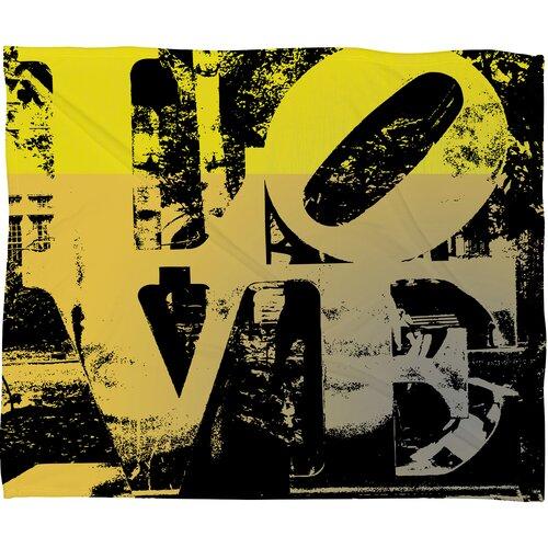 Amy Smith Philadelphia Love Polyesterrr Fleece Throw Blanket