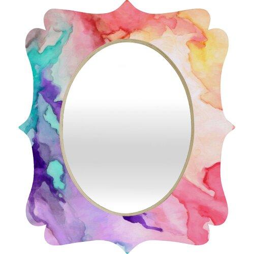 Rosie Brown Color My World Quatrefoil Mirror