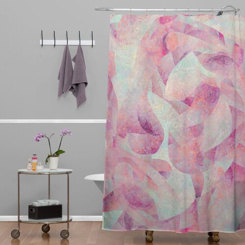 DENY Designs Jacqueline Maldonado Woven Polyester Sleep to Dream Shower Curtain