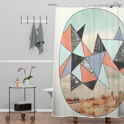 DENY Designs Wesley Bird Polyester Dry Spell Shower Curtain
