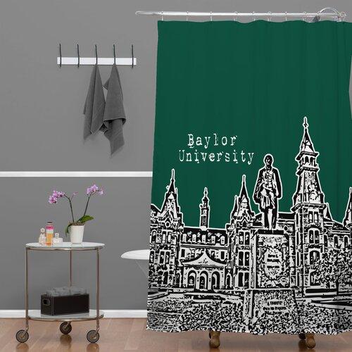 DENY Designs Bird Ave Woven Polyester University Shower Curtain