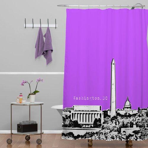 DENY Designs Bird Ave Woven Polyester Washington Shower Curtain