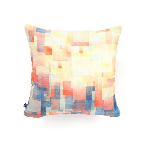 Jacqueline Maldonado Cubism Dream Polyester Throw Pillow