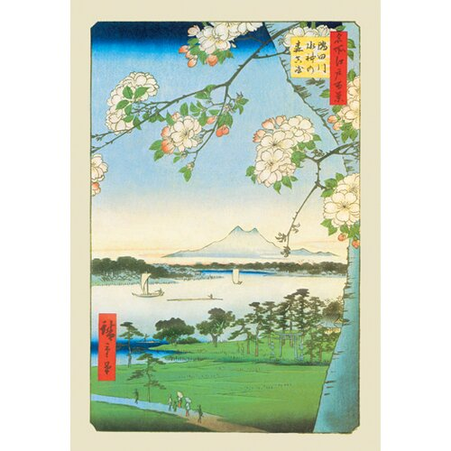 Buyenlarge Cherry Blossoms by Utagawa Hiroshige Graphic Art on Canvas