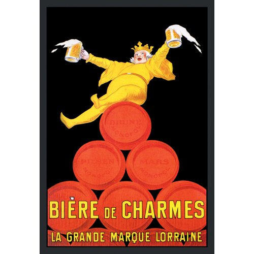 Buyenlarge Biere de Charmes by D'ylen Vintage Advertisement on Canvas