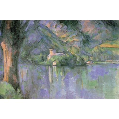Buyenlarge Le Lac Annecy Painting Print on Canvas