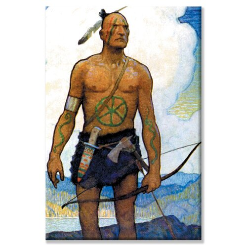 Buyenlarge Last of the Mohicans by Newell Convers Wyeth Painting Print on Canvas