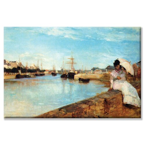 Port at Loby Painting Print on Canvas