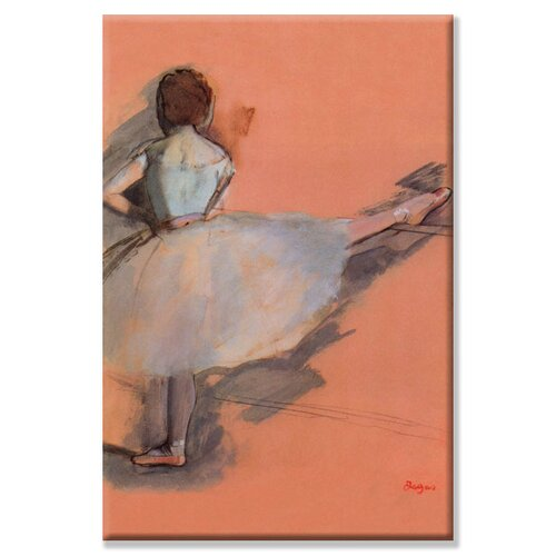 Ballet Dancer Painting Print on Canvas