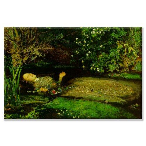 Buyenlarge Ophelia Painting Print on Canvas