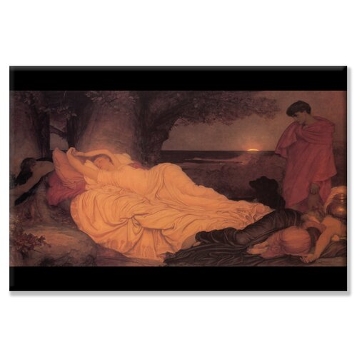 Cymon and Iphigenia Painting Print on Canvas