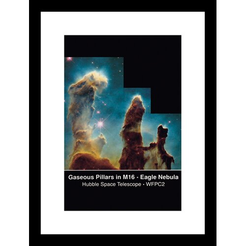 Pillars of Creation Framed Graphic Art
