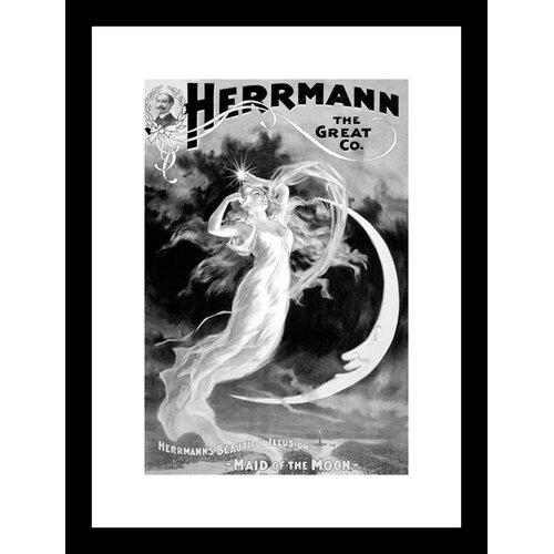 Herrmann The Great Co. Framed Vintage Advertisement