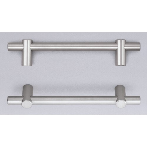 """Omnia Stainless Steel Cabinet 17.64"""" Appliance Pull"""