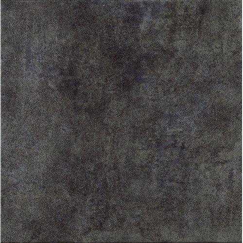 "Marca Corona Reactions 4"" x 4"" Glazed Porcelain Field Tile in Black"