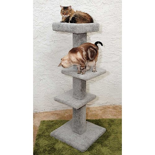 New Cat Condos 3 Tier Cat Scratching Perch
