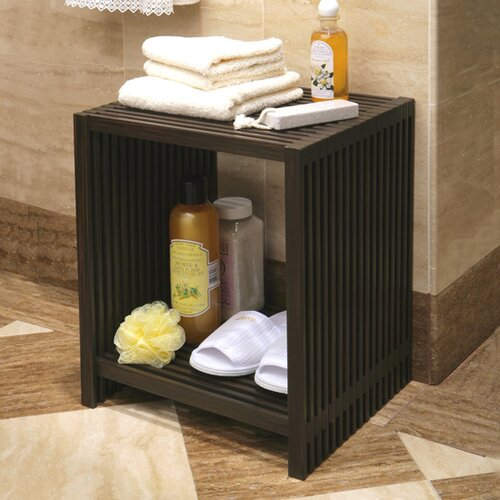Seville Classics Classic Lines 2 Tier Storage Tower Shelf