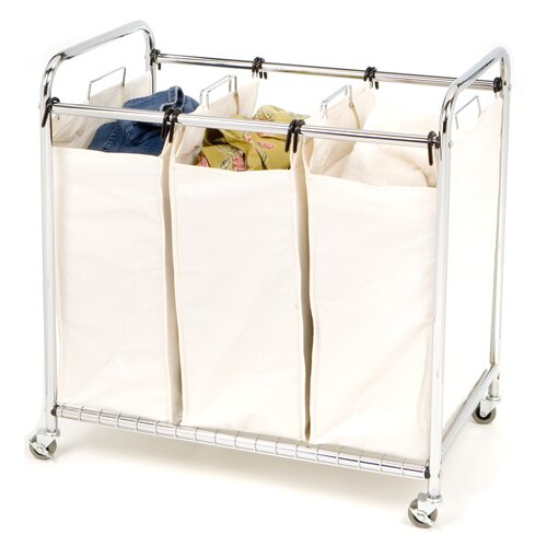 Seville Classics 3 Bag Laundry Sorter Amp Reviews Wayfair