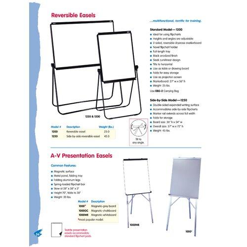 Testrite Standard Reversible Easel