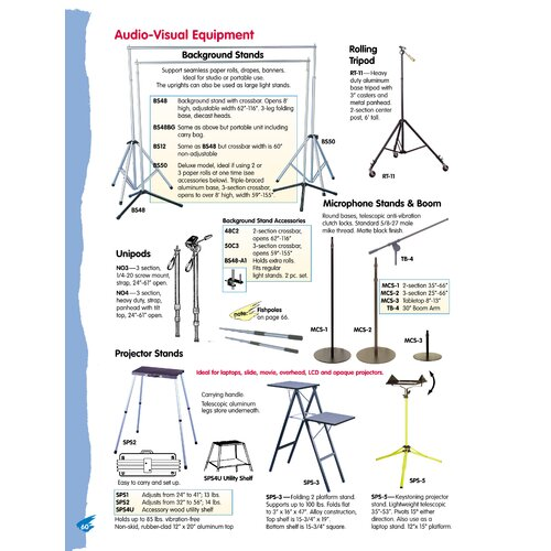 Testrite Lightweight Light Stand
