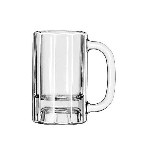 Libbey Mugs and Tankards 10 oz. Paneled Mug