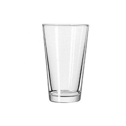 Libbey Restaurant Basics 16 oz. Non-Dura Tuff Mix Glass