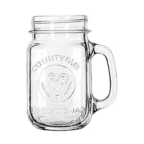 Libbey Mugs and Tankards 16.5 oz. Emblem Drink Jar