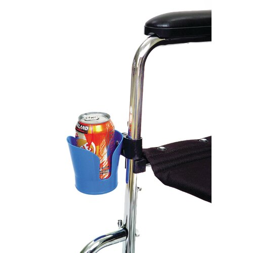 Single Wheelchair Cup Holder