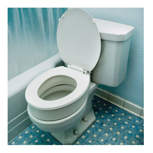 Essential Medical Standard Raised Toilet Seat
