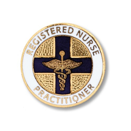 Prestige Medical Registered Nurse Practitioner with Emblem Pin