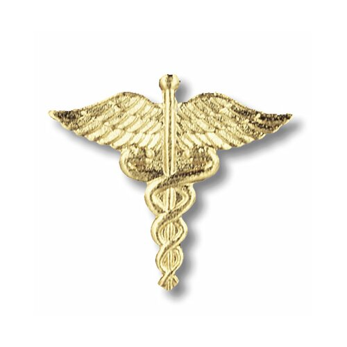 Prestige Medical Caduceus Emblem Pin