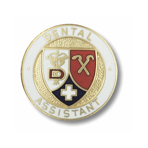 Prestige Medical Dental Assistant Emblem Pin