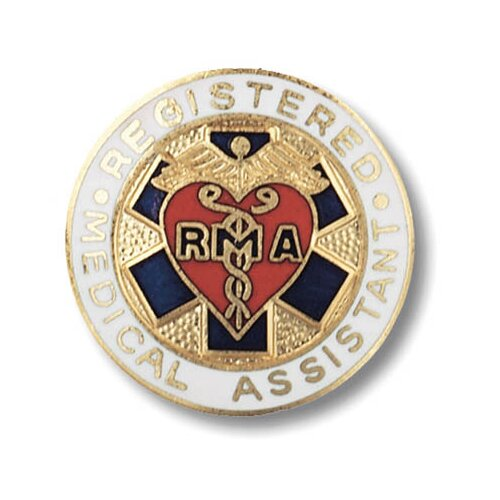 Prestige Medical Registered Medical Assistant Emblem Pin