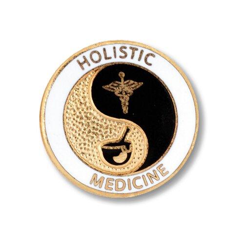 Prestige Medical Holistic Medicine Emblem Pin