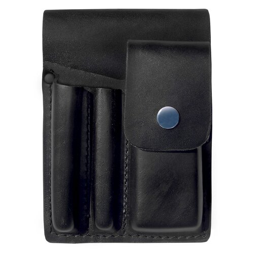 Prestige Medical Square Paddle Leather Holster