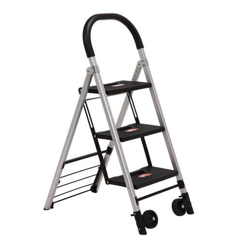 Xtend+Climb Xtend and Climb 3-Step Step Stool / Hand Cart