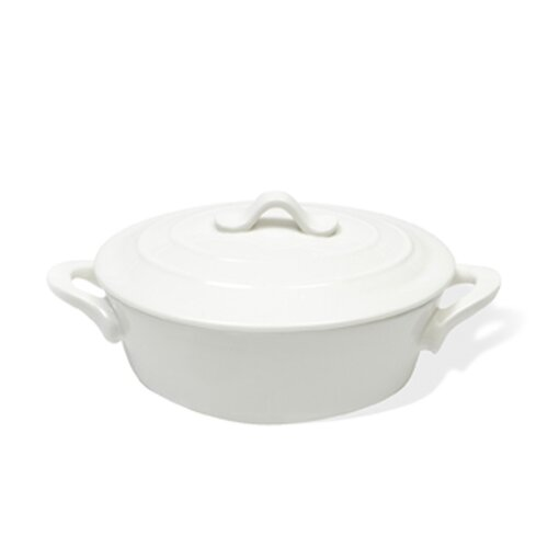 White Basics Oval Casserole