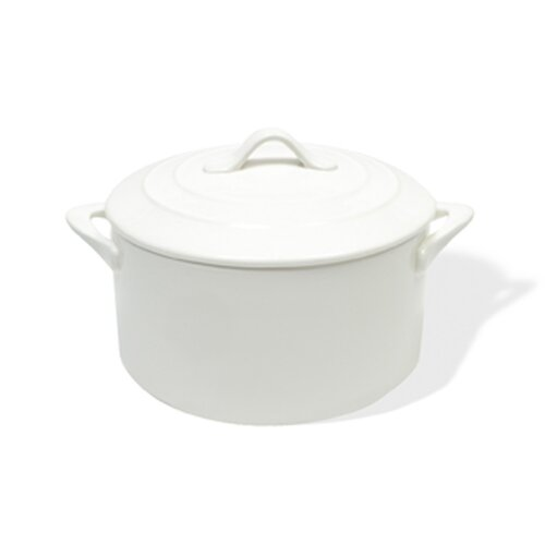 Maxwell & Williams White Basics Round Casserole