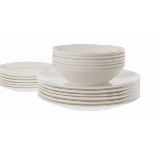 Cashmere Coupe 18 Piece Dinnerware Set