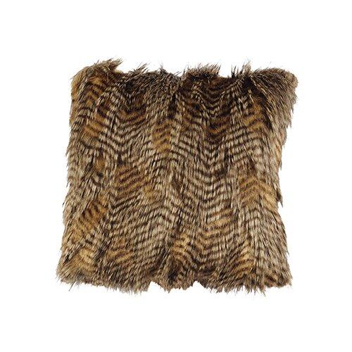 Trails End Feathers Fur Pillow